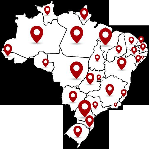 Transportadora Rotas Paulistas - Locais de Atendimento